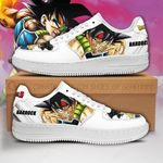 Bardock Sneakers Custom Dragon Ball Z Shoes Anime PT04