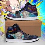 Kid Trunks Sneaker Boots J1 Galaxy Dragon Ball Z Shoes Anime Fan PT04