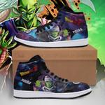 Piccolo Sneaker Boots J1 Galaxy Dragon Ball Z Shoes Anime Fan PT04