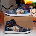 Krillin Sneaker Boots J1 Galaxy Dragon Ball Z Shoes Anime Fan PT04