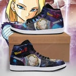 Android 18 Sneaker Boots J1 Galaxy Dragon Ball Z Shoes Anime Fan PT04