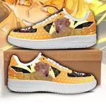 Zenitsu Sneakers Custom Demon Slayer Shoes Anime Fan PT05