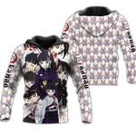 Kanao Tsuyuri Zip Hoodie Demon Slayers Shirt Costume Anime Fan Gift Idea VA06