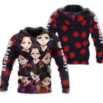 Tamayo Zip Hoodie Demon Slayers Shirt Costume Anime Fan Gift Idea VA06