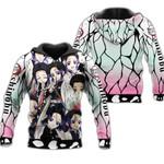 Shinobu Zip Hoodie Demon Slayers Shirt Costume Anime Fan Gift Idea VA06