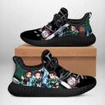 Demon Slayer Tanjiro Sneakers Reze Demon Slayer Shoes Anime Fan TT04