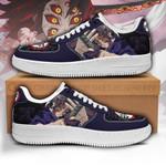 Kokushibou Sneakers Custom Demon Slayer Shoes Anime Fan PT05