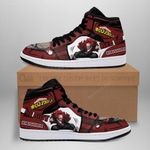 Eijiro Red Riot Sneaker Boots J1 Custom My Hero Academia Shoes Anime MN05