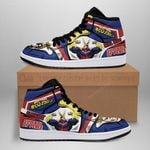 All Might Sneaker Boots J1 Custom My Hero Academia Shoes Anime MN05