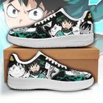 Izuku Midoriya Sneakers Deku Custom My Hero Academia Shoes Anime Fan Gift PT05