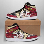 Momo Sneaker Boots J1 Custom My Hero Academia Shoes Anime MN05