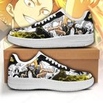 Denki Kaminari Sneakers Custom My Hero Academia Shoes Anime Fan Gift PT05