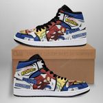 Lemillion Mirio Sneaker Boots J1 Custom My Hero Academia Shoes Anime MN05
