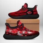 Akatsuki Cloud Sneakers Reze Naruto Shoes Anime Fan Gift Idea TT05