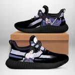 Sasuke Jutsu Sneakers Reze Naruto Shoes Anime Fan Gift Idea TT03