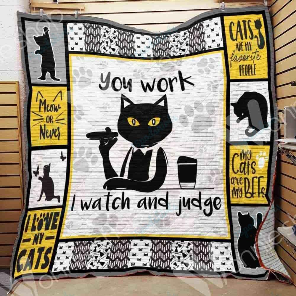 Black Cat Blanket OCT0102 78O56