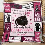 Black Cat Blanket NOV2201 78O42