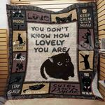 Black Cat Blanket SEP2702 73O43