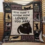 Black Cat Blanket SEP2702 73O43