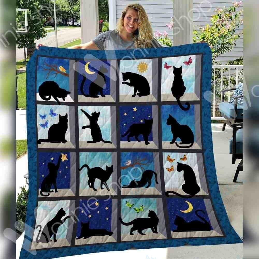 Black Cat Blanket SEP2702 81O36
