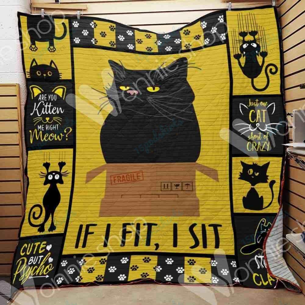 Black Cat Blanket SEP2703 90O35