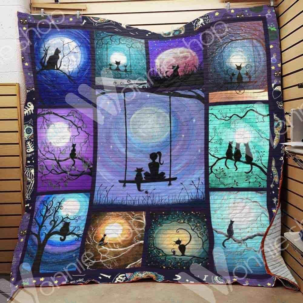 Black Cat Blanket SEP3002 81O31