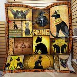 Black Cat Egypt Blanket SEP3003 95O49