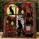 A BC Black Cat Quilt Blanket
