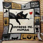 Black Cat Blanket SEP2701 90O43