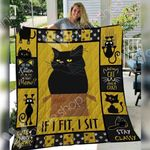 Black Cat Blanket SEP2703 90O35