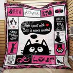 Black Cat Blanket SEP3001 78O41