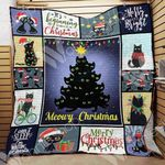 Black Cat Christmas Blanket SEP3002 85O49