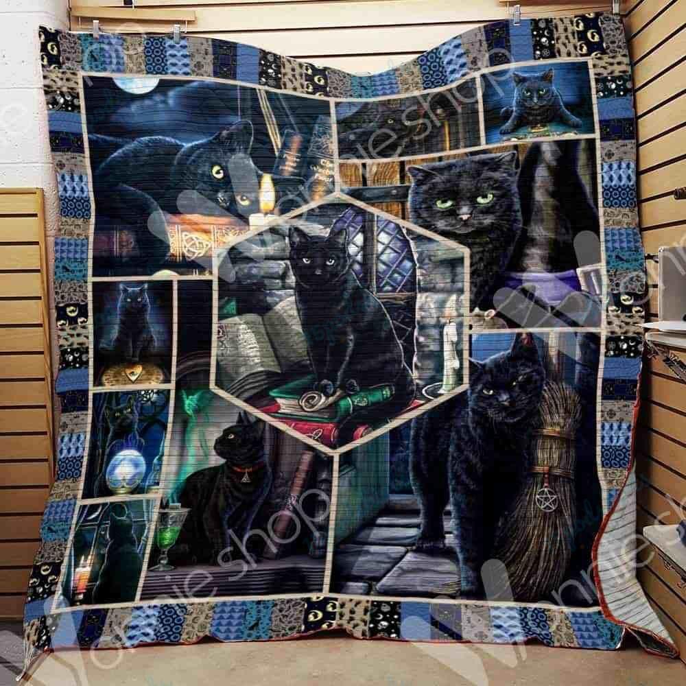 Black Cat Witch Blanket NOV2801 81O56