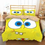Spongebob Squarepants 5 Duvet Cover Bedding Set