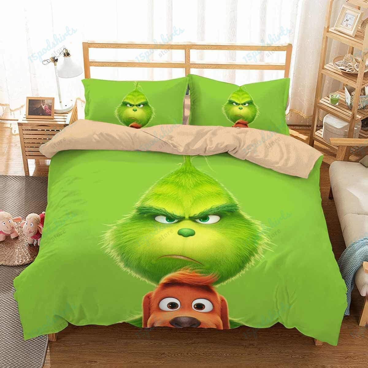The Grinch 1 Duvet Cover Bedding Set