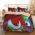 The Grinch 3 Duvet Cover Bedding Set