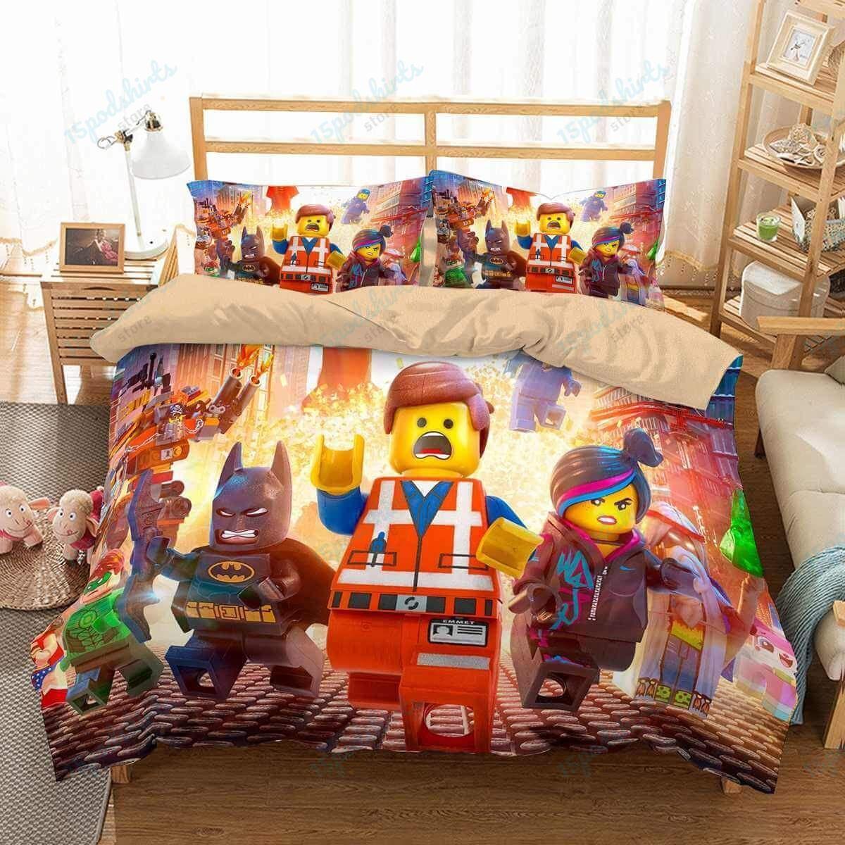 The Lego Movie 1 Duvet Cover Bedding Set