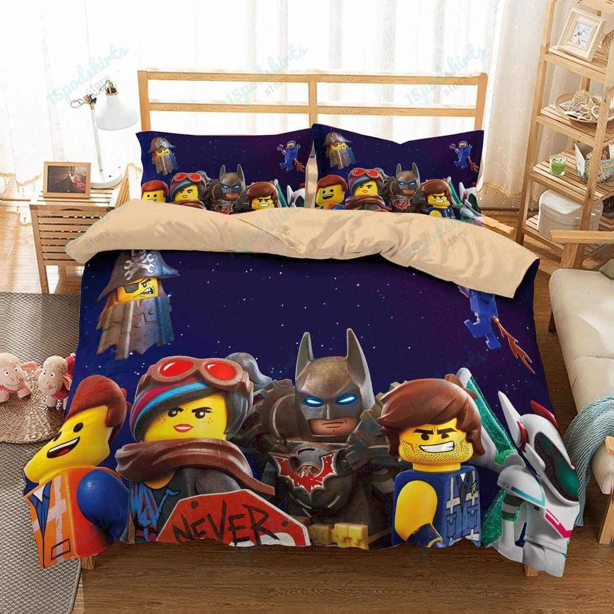 The Lego Movie 2 1 Duvet Cover Bedding Set