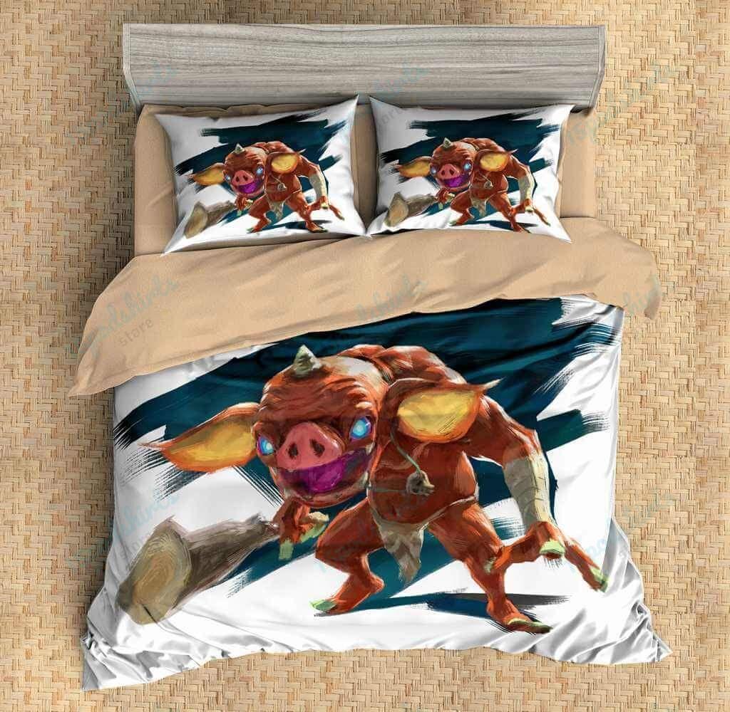 The Legend Of Zelda Breath Of The Wild 13 Duvet Cover Bedding Set