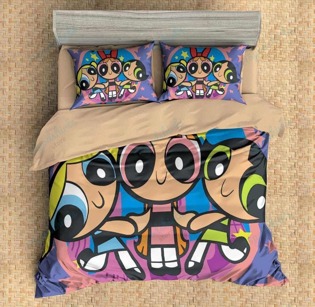 The Powerful Girl Duvet Cover Bedding Set