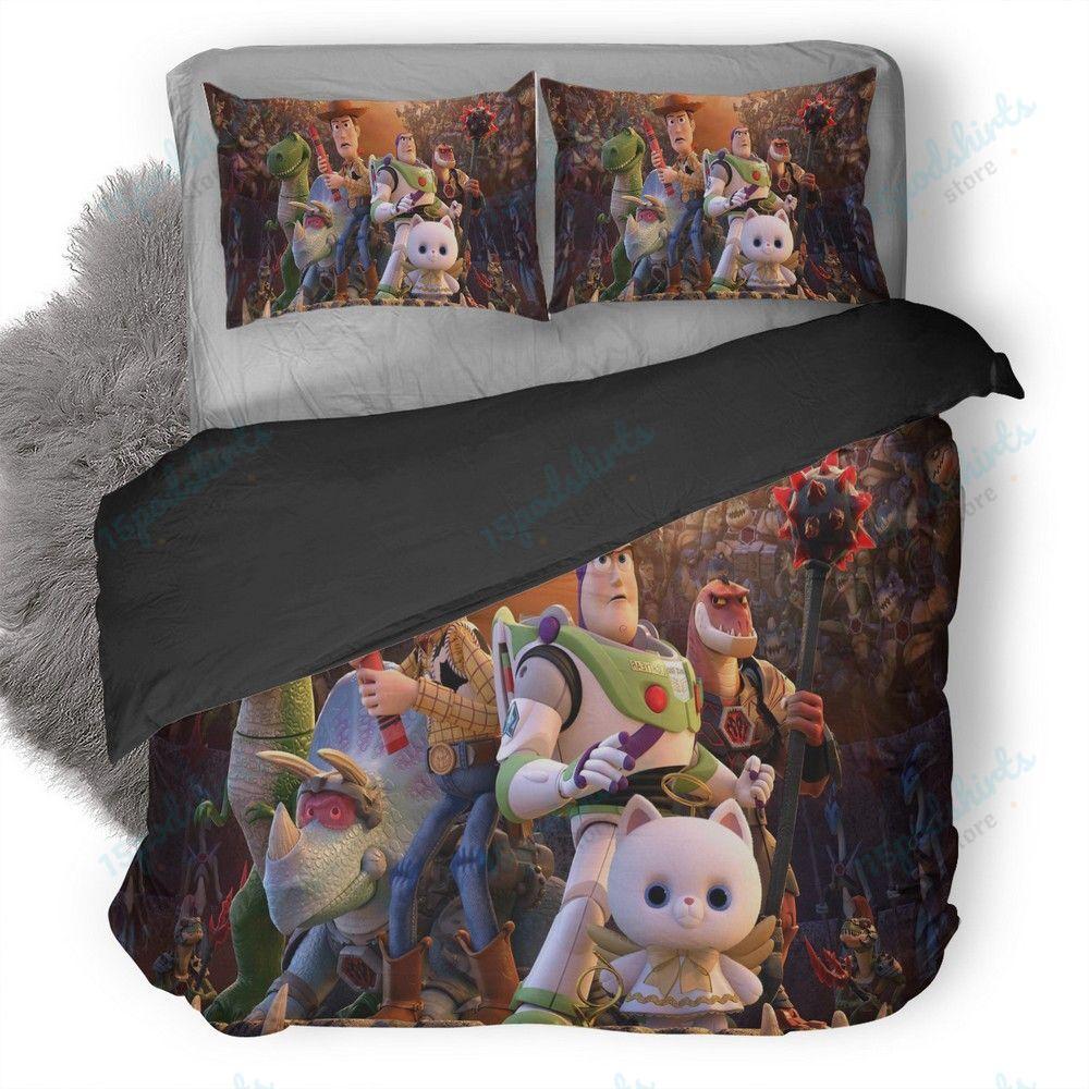 Toy Story That Time Forgot Duvet Cover Bedding Set