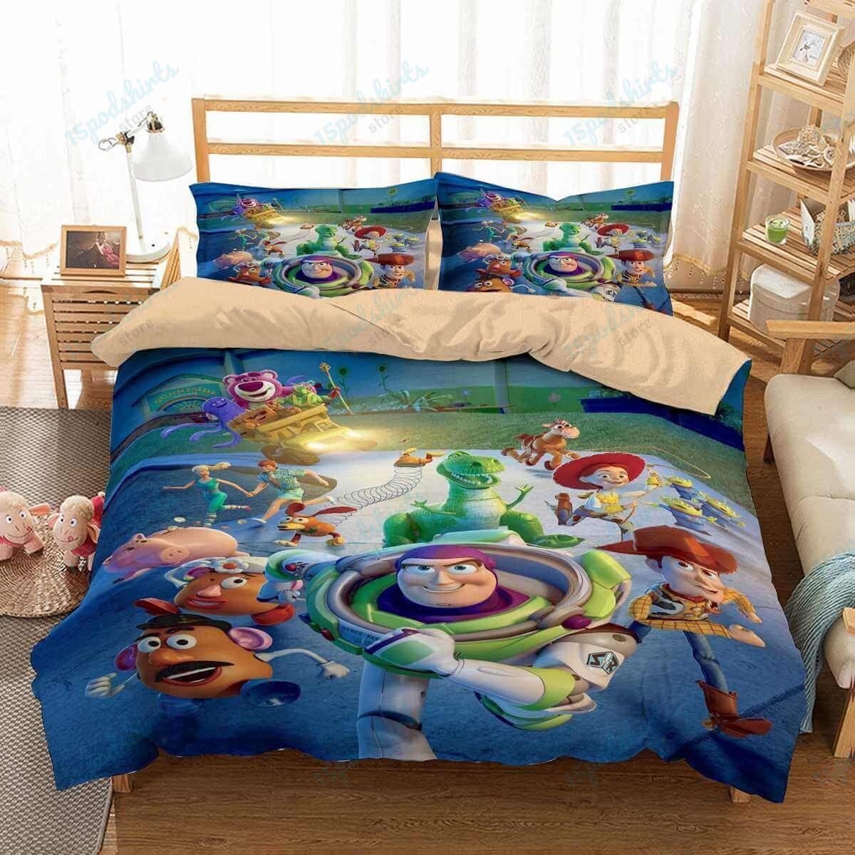 Toy Story 1 Duvet Cover Bedding Set