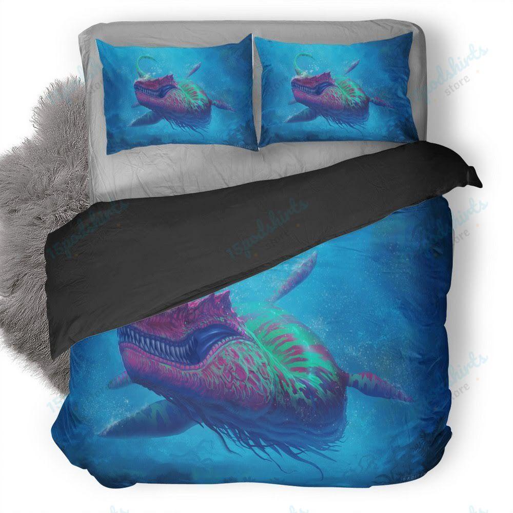 Under Water Creature Duvet Cover Bedding Set