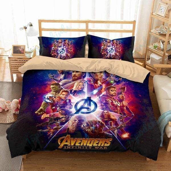 Avengers Infinity War 6 Duvet Cover Bedding Set