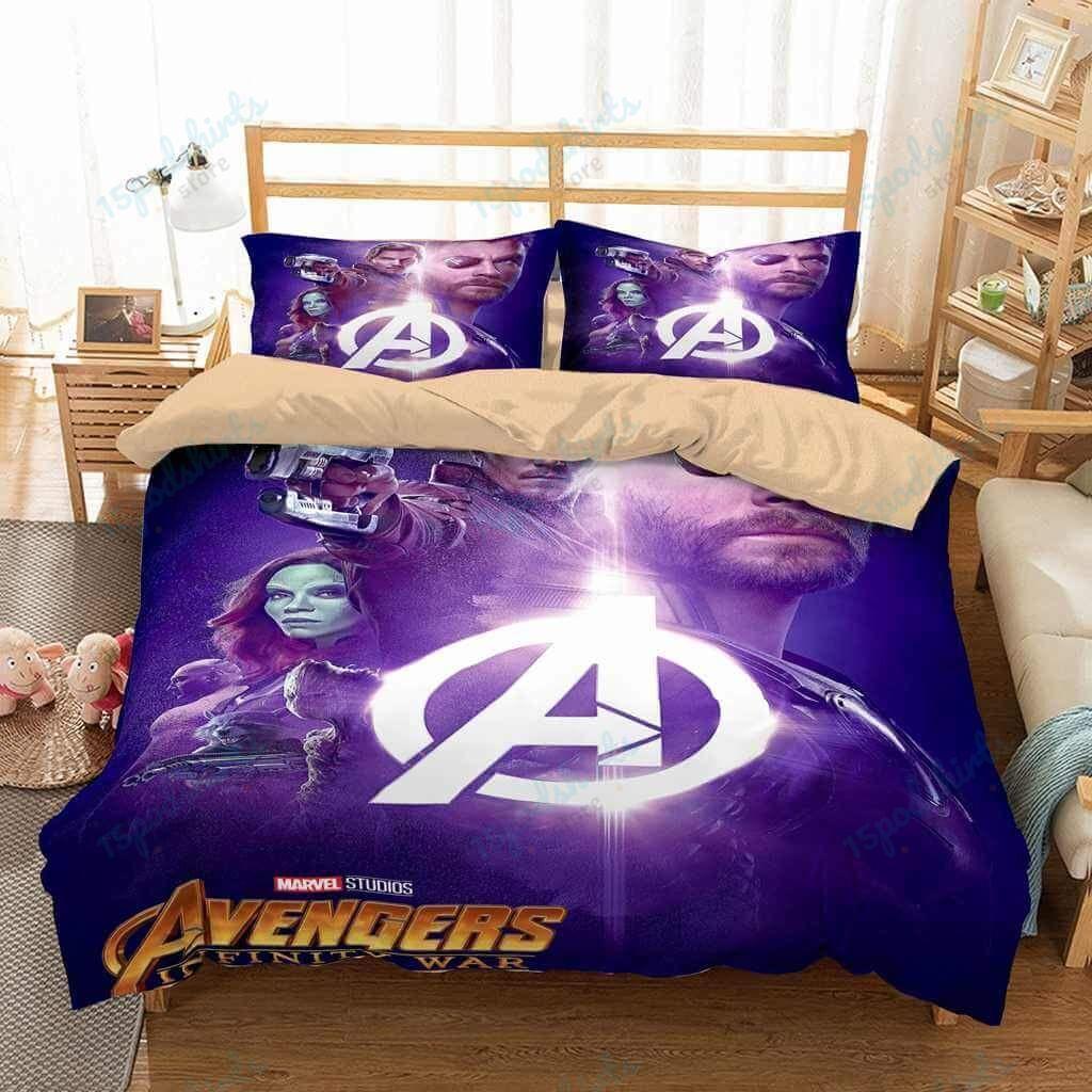 Avengers Infinity War 4 Duvet Cover Bedding Set