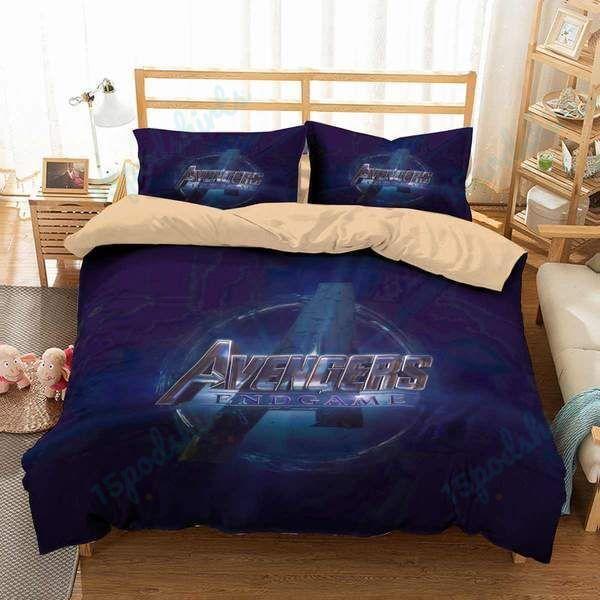 Avengers Endgame 1 Duvet Cover Bedding Set