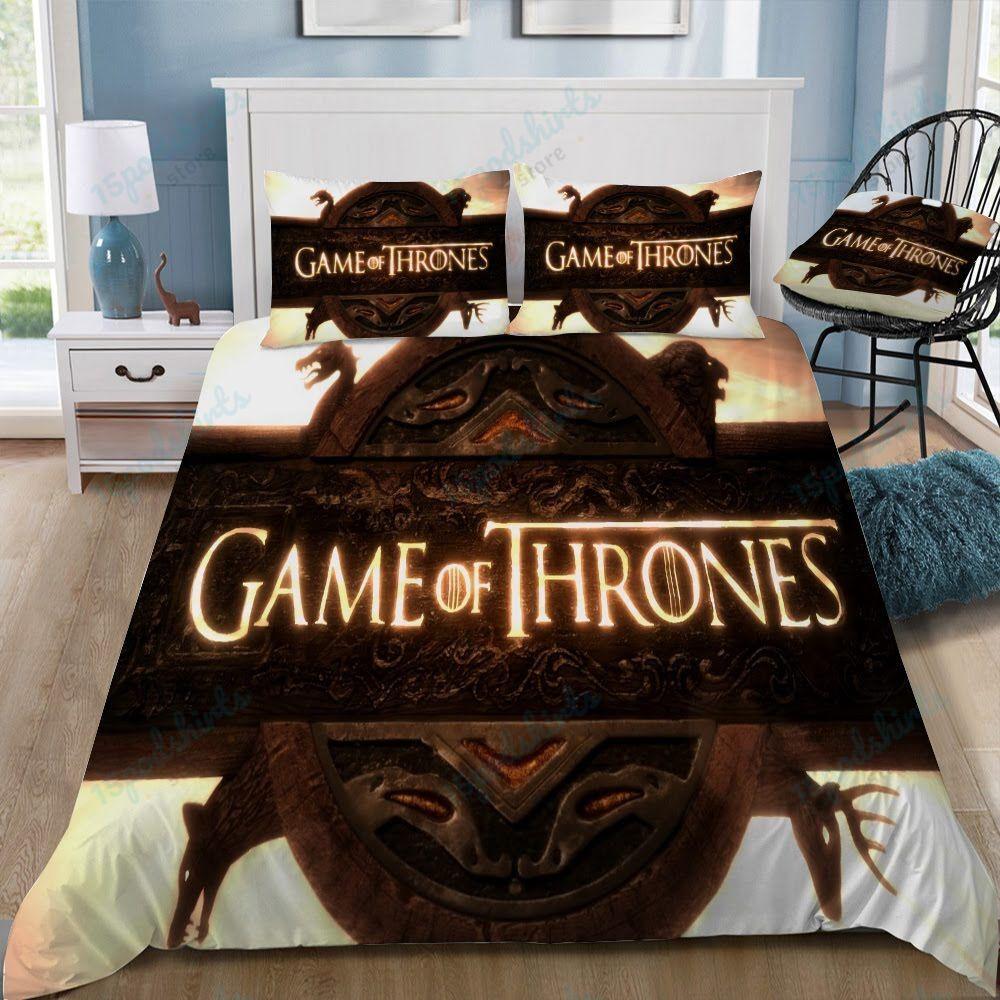 Game Of Thrones Logo 53 Duvet Cover Bedding Set
