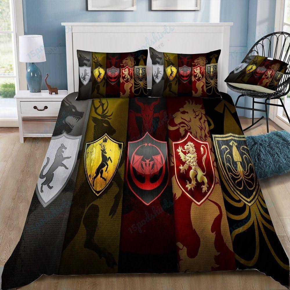 Game Of Thrones Logo 20 Duvet Cover Bedding Set