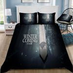 Game Of Thrones Winter Is Coming 60 Duvet Cover Bedding Set