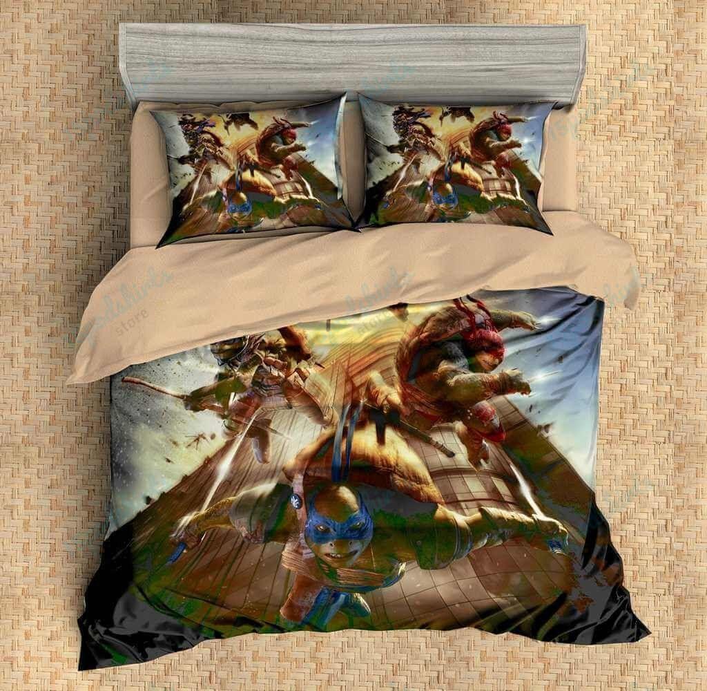 Ninja Turtles Duvet Cover Bedding Set